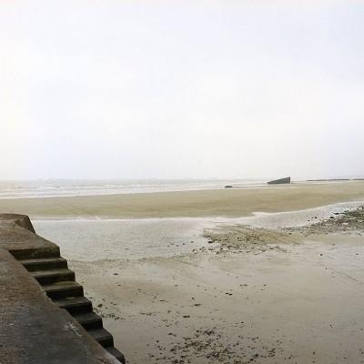 Low-tide-Arromanches