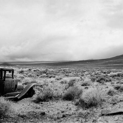 Okie's car, Area 12, Nevada Test Site